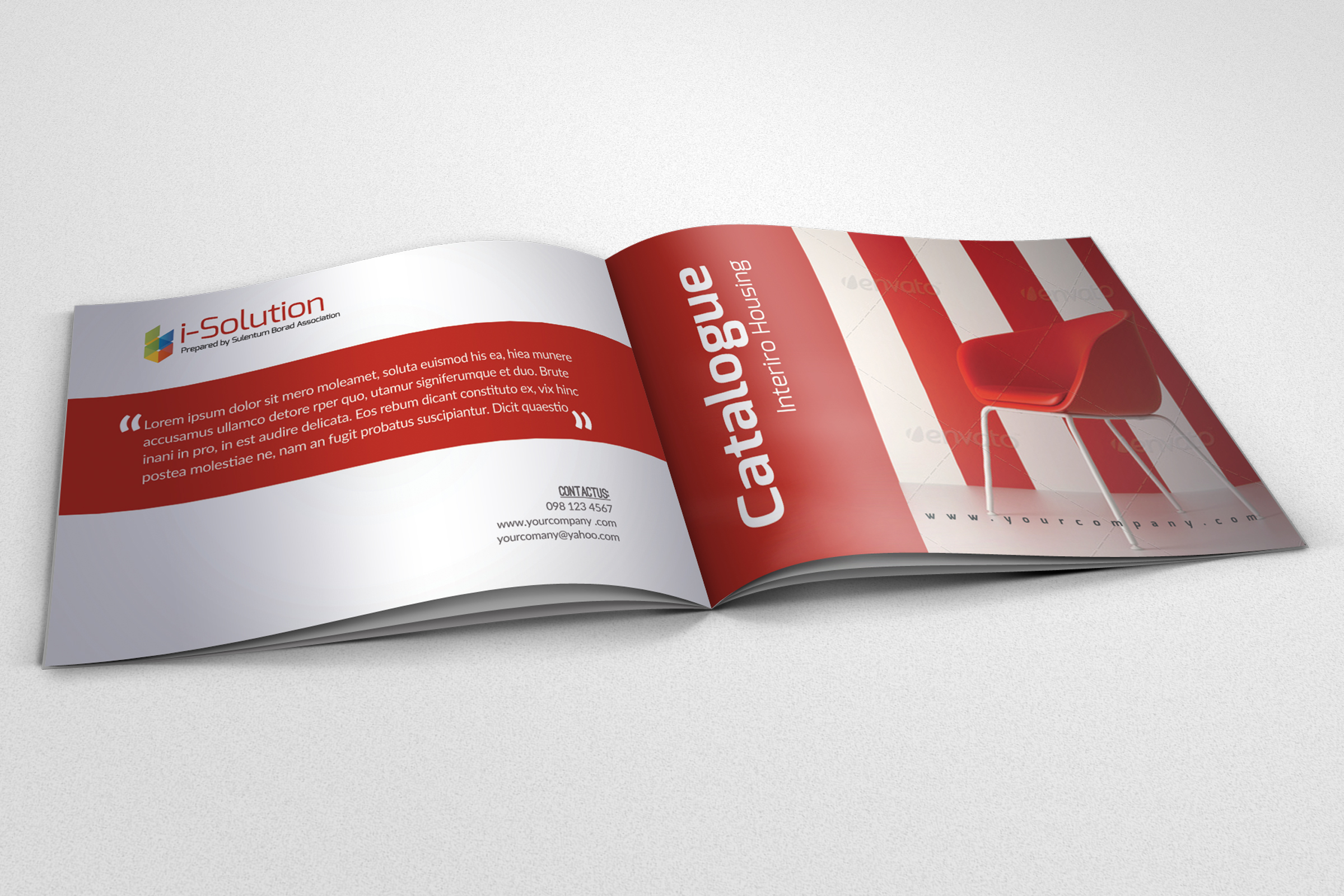 20 Pages Catalogue Business Bifold Brochure  example image 6