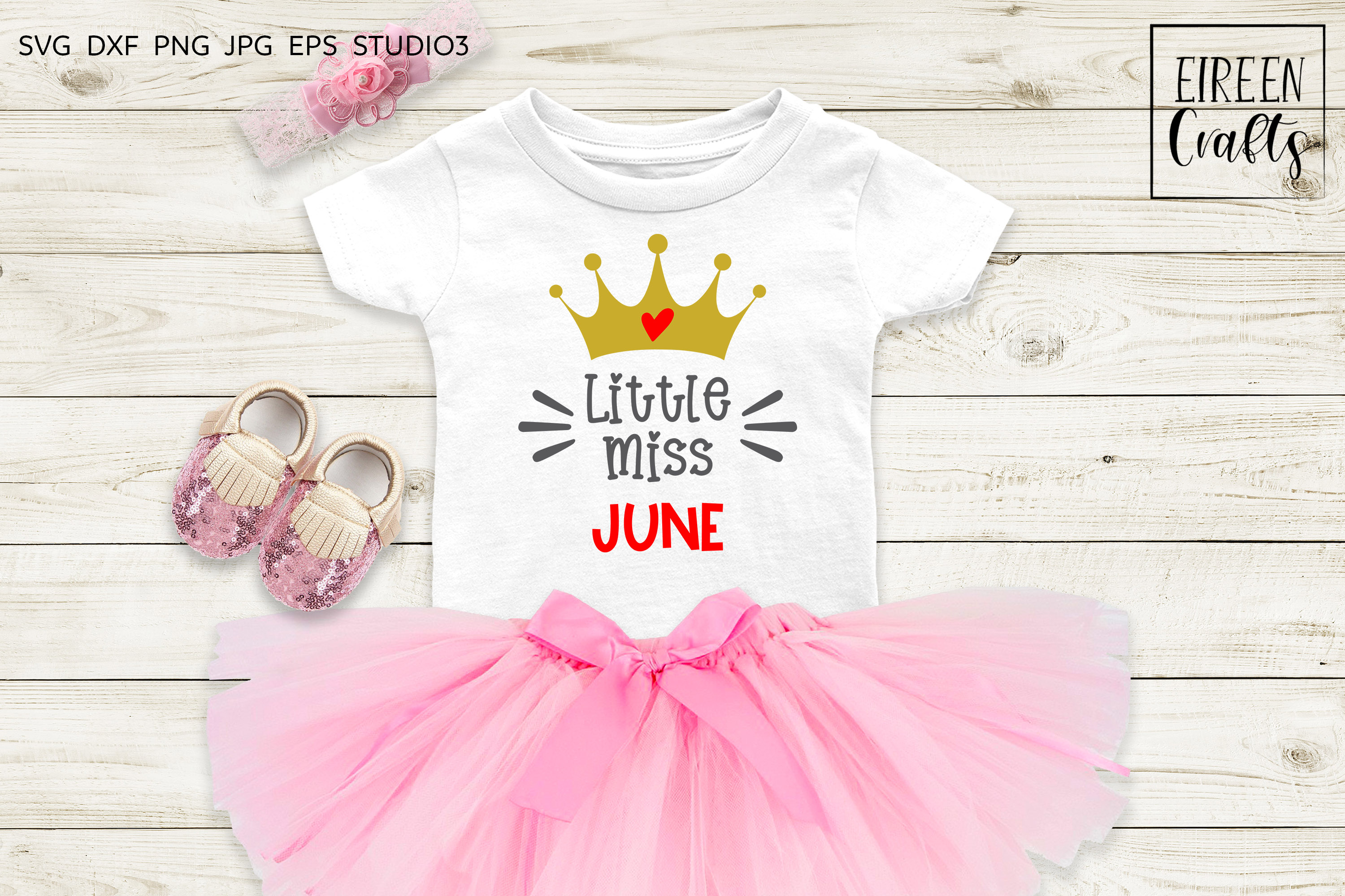 Little Miss January to Little Miss December SVG bundle example image 3