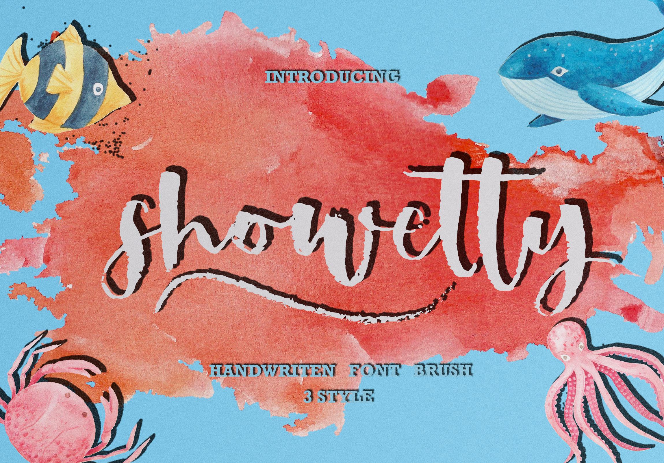 Showetty Brush Script  40 Off  example image 1