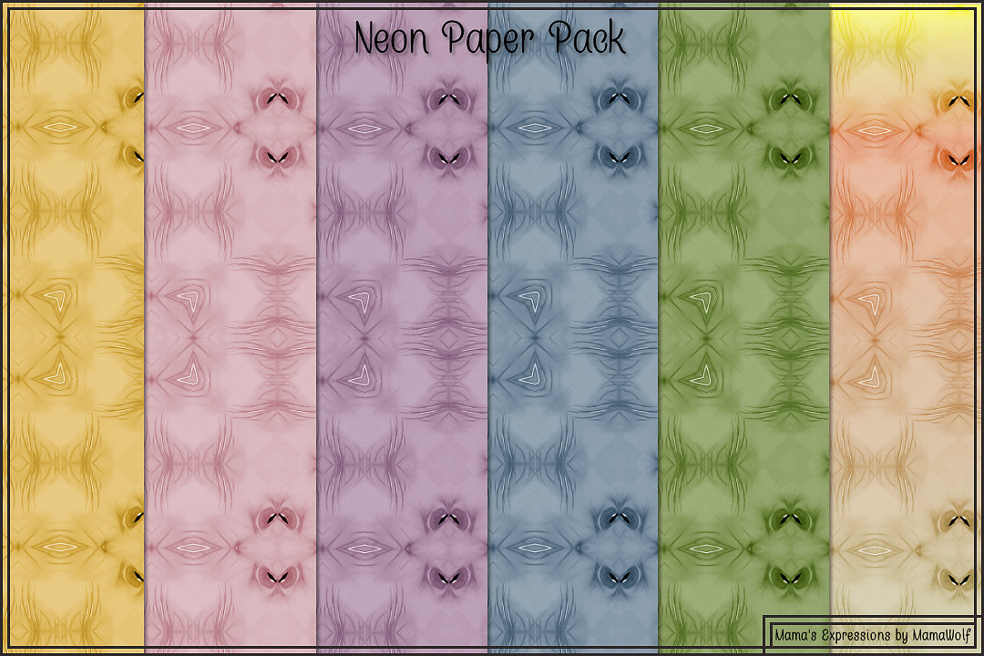 Neon Paper Pack example image 5