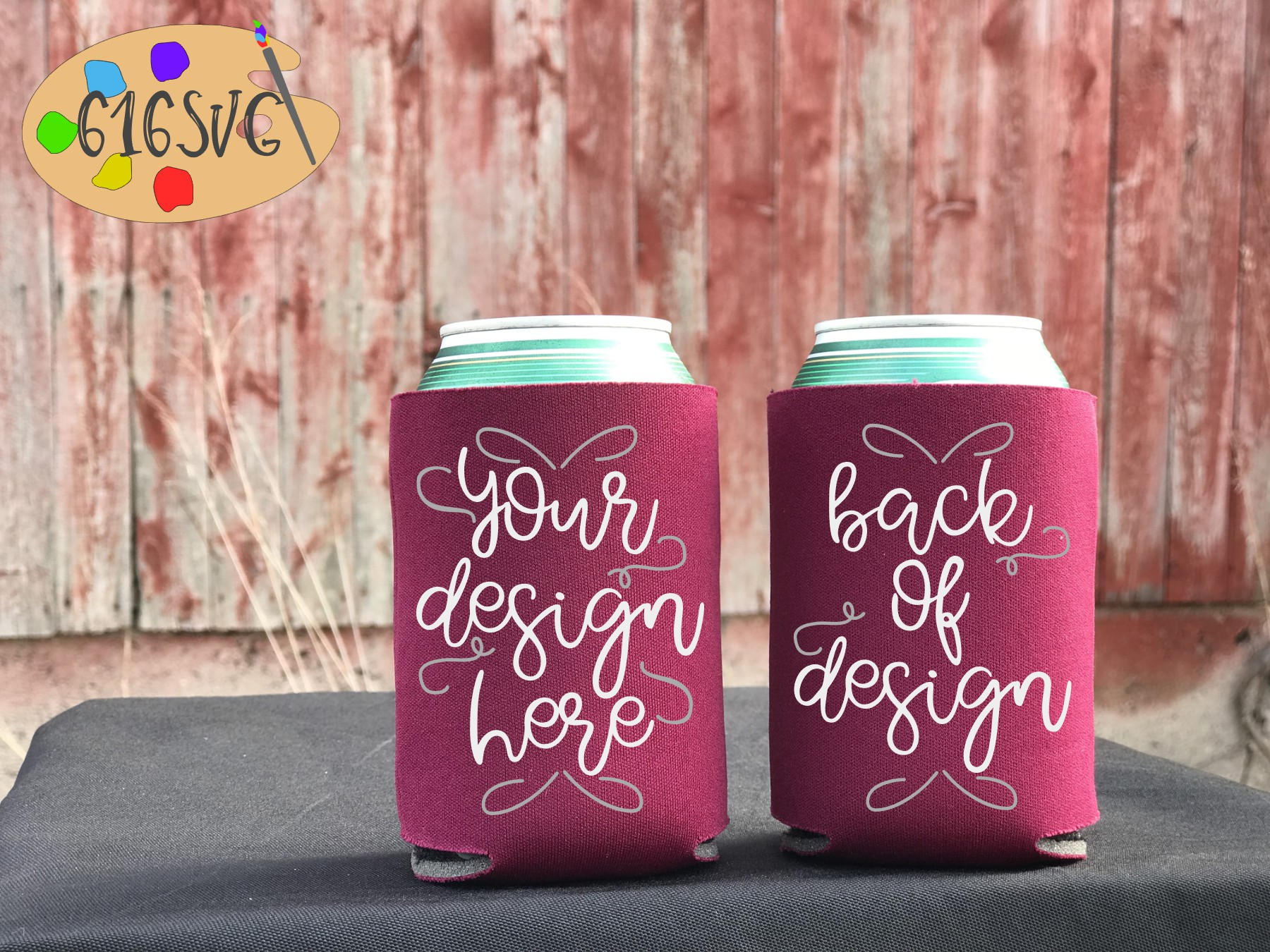 Can Cooler Mockup Bundle 33 Color Choices example image 4