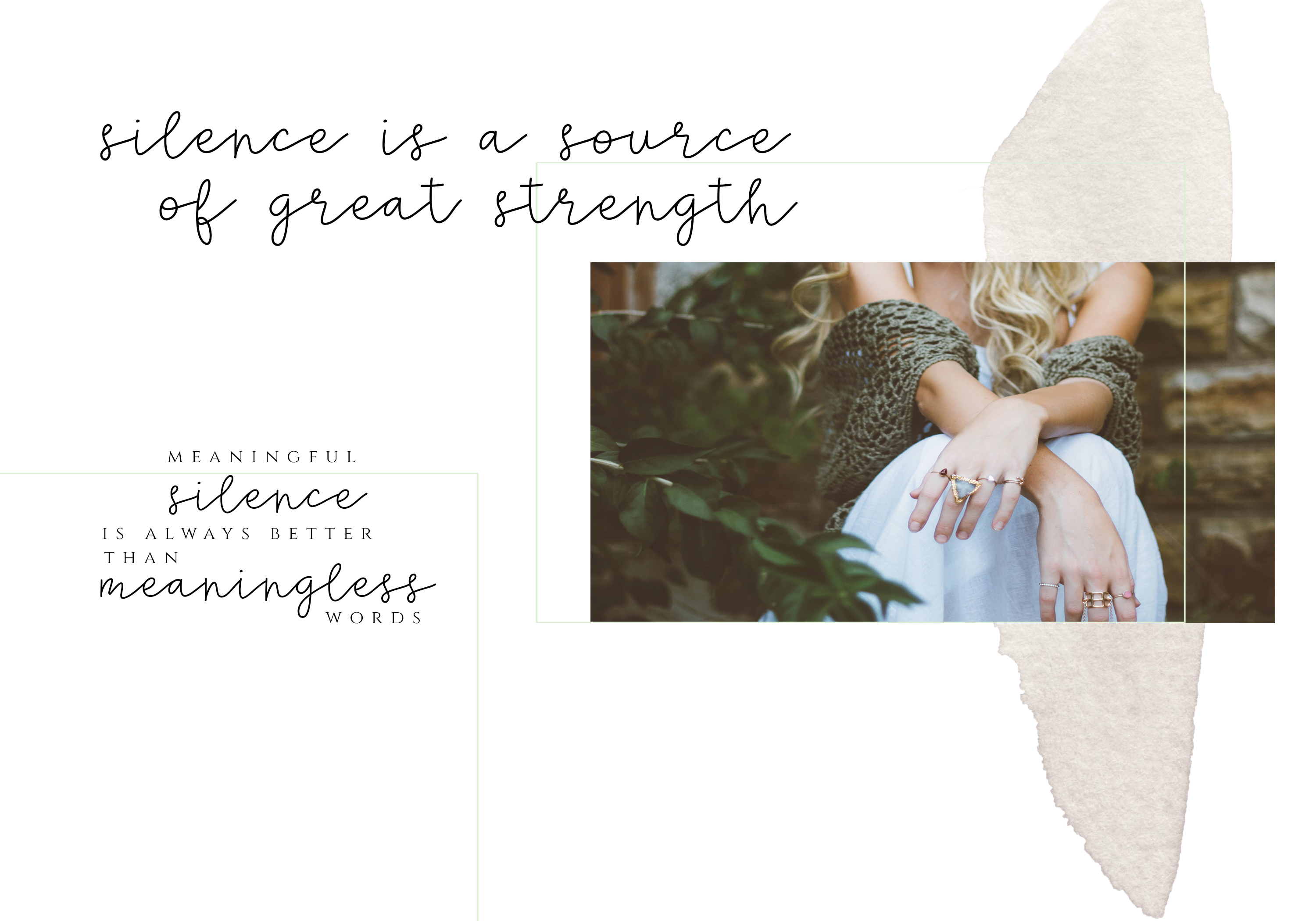 Silence - Delicate Script Font example image 2