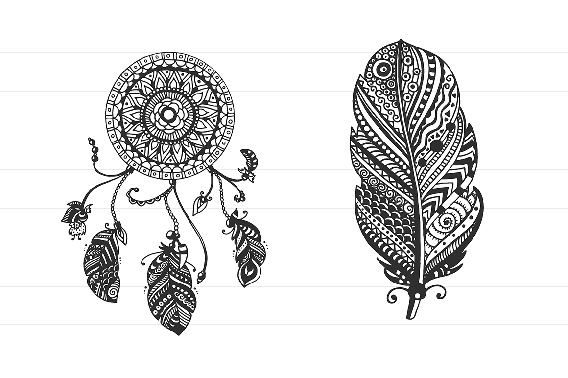 TRIBAL Vector Elements Collection example image 2