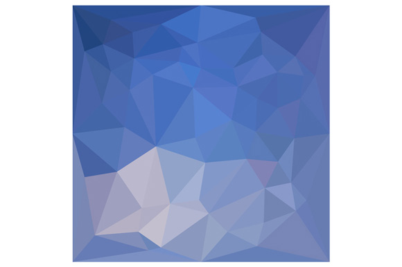 Powder Blue Abstract Low Polygon Background example image 1