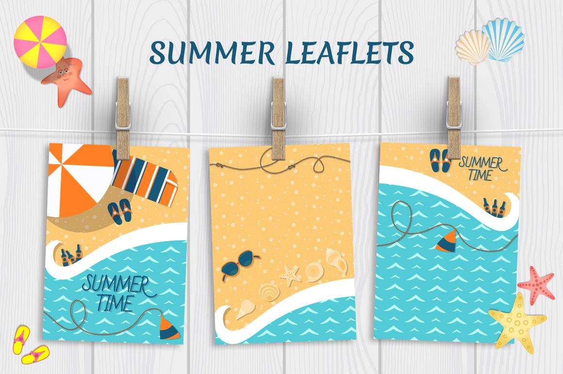Summer leaflets example image 1