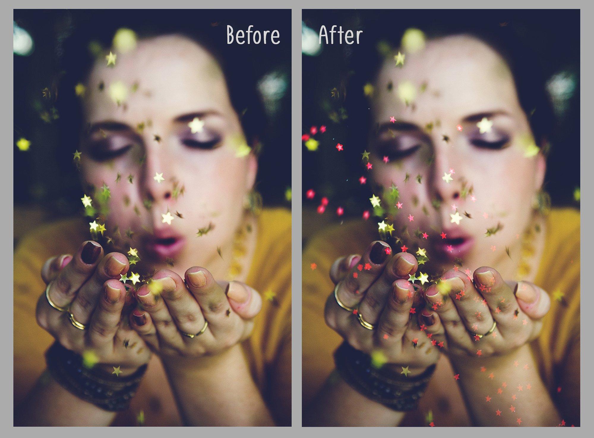 Glitter Effect Photoshop Overlays example image 5