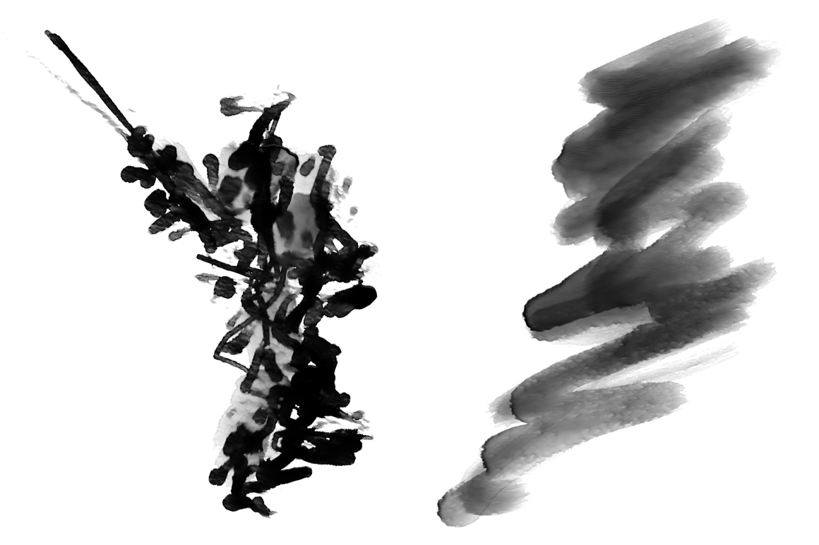 50 HI-RES WATERCOLOR PHOTOSHOP BRUSHES example image 6