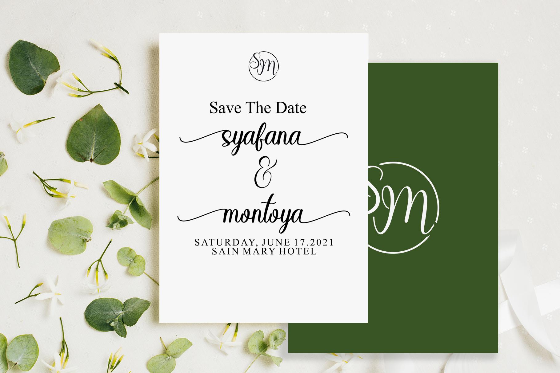 Sayidah Lovely Script example image 6
