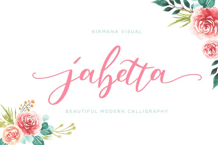 Jabetta Script example image 1