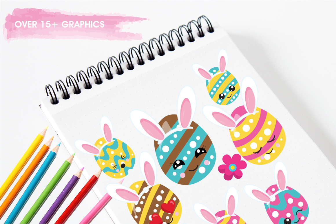 Easter Egg Hunt graphics and illustrations example image 3