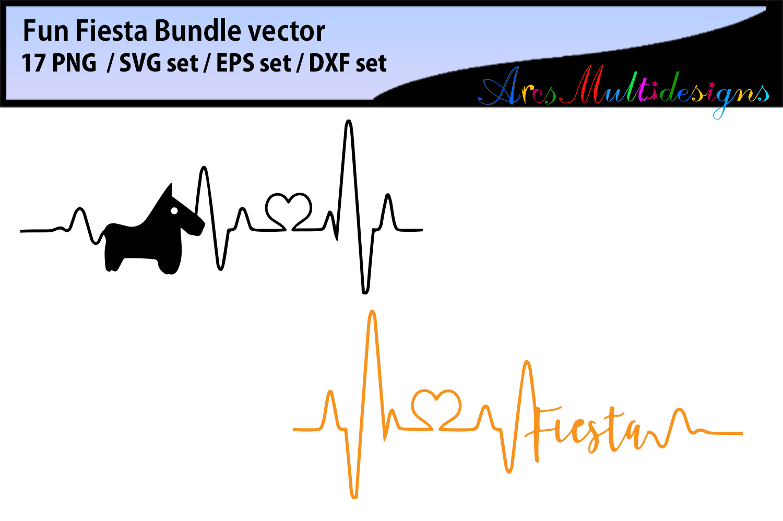 Fiesta Fun Bundle SVG DXF PNG and EPs / Fiesta bundle svg example image 3