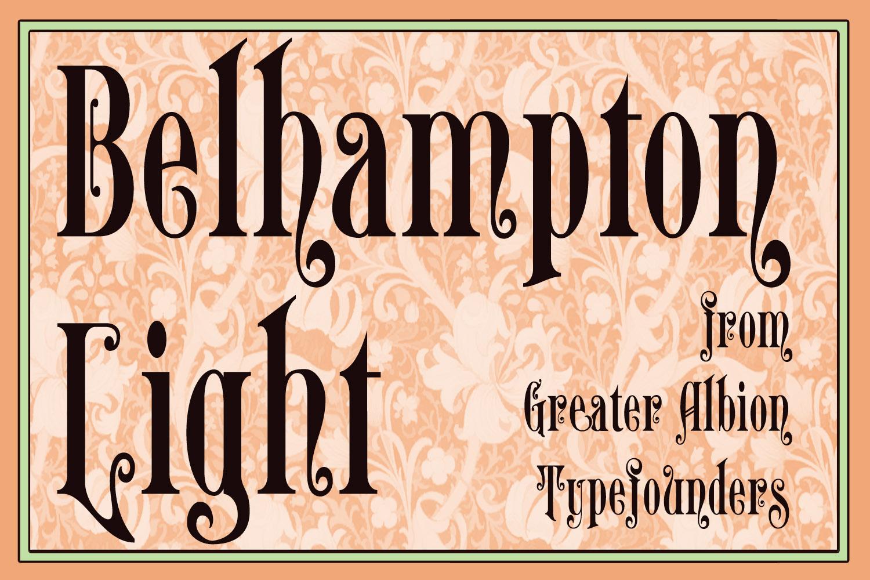 Belhampton Light example image 1