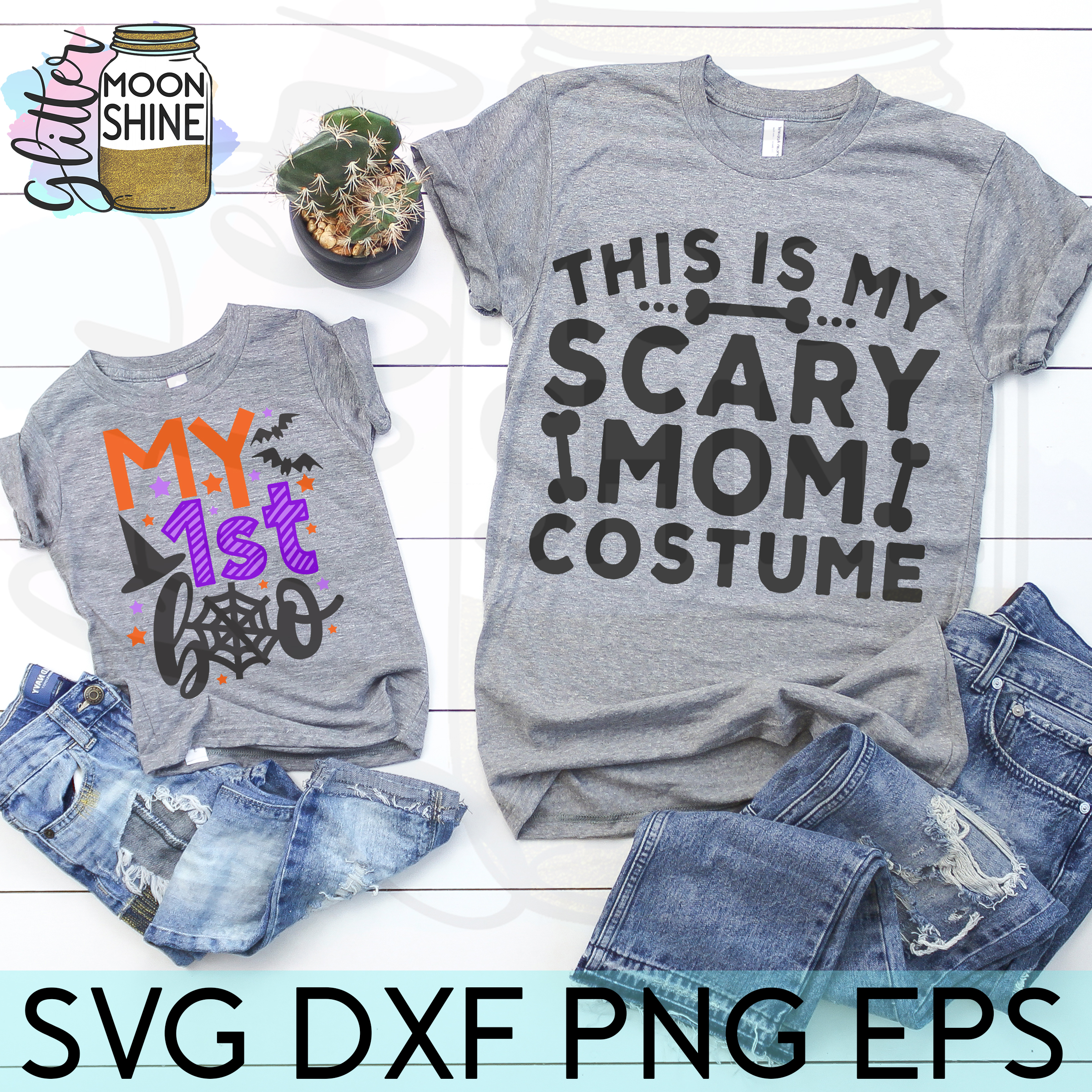 Huge Halloween Bundle of 44 SVG DXF PNG EPS Cutting Files example image 6