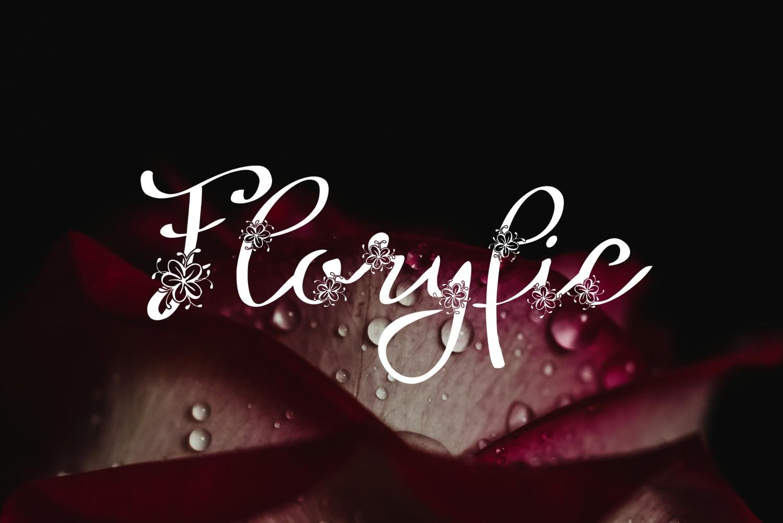 Floryfic font example image 6