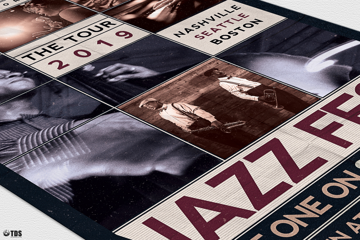 Jazz Fest Flyer Template example image 6