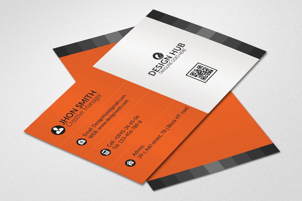 Simple Business Cards Template example image 1