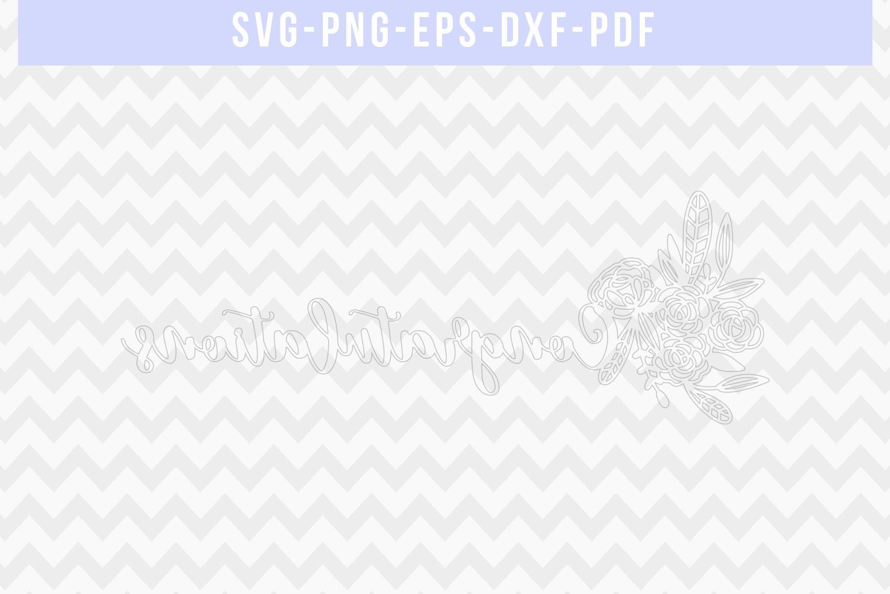 Congratulations Papercut Template, Wedding Cut File, SVG PDF example image 2