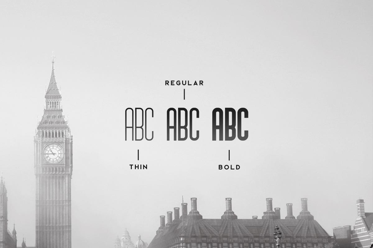 Brigmore Typeface example image 3