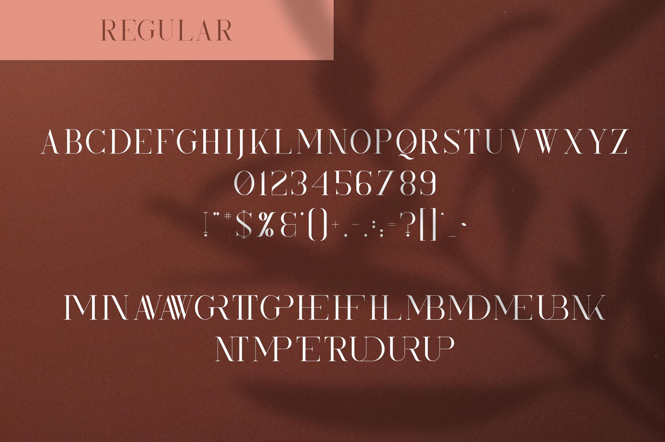 Kindel - Serif Typeface | 4 styles example image 8