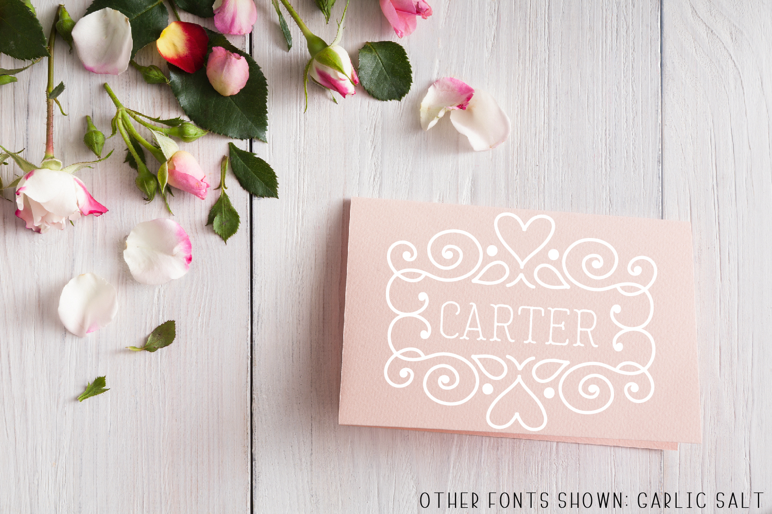 Ornament Font - The Perfect Accessory to Your Designs!  example image 9