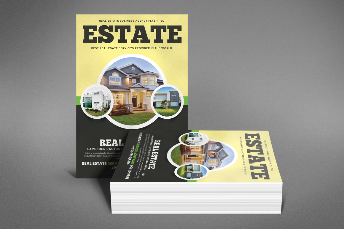 Home Real Estate Flyer example image 4