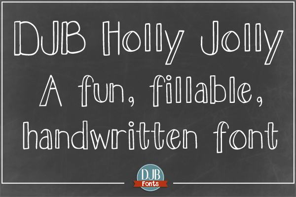DJB Holly Sessions Font Bundle example image 6