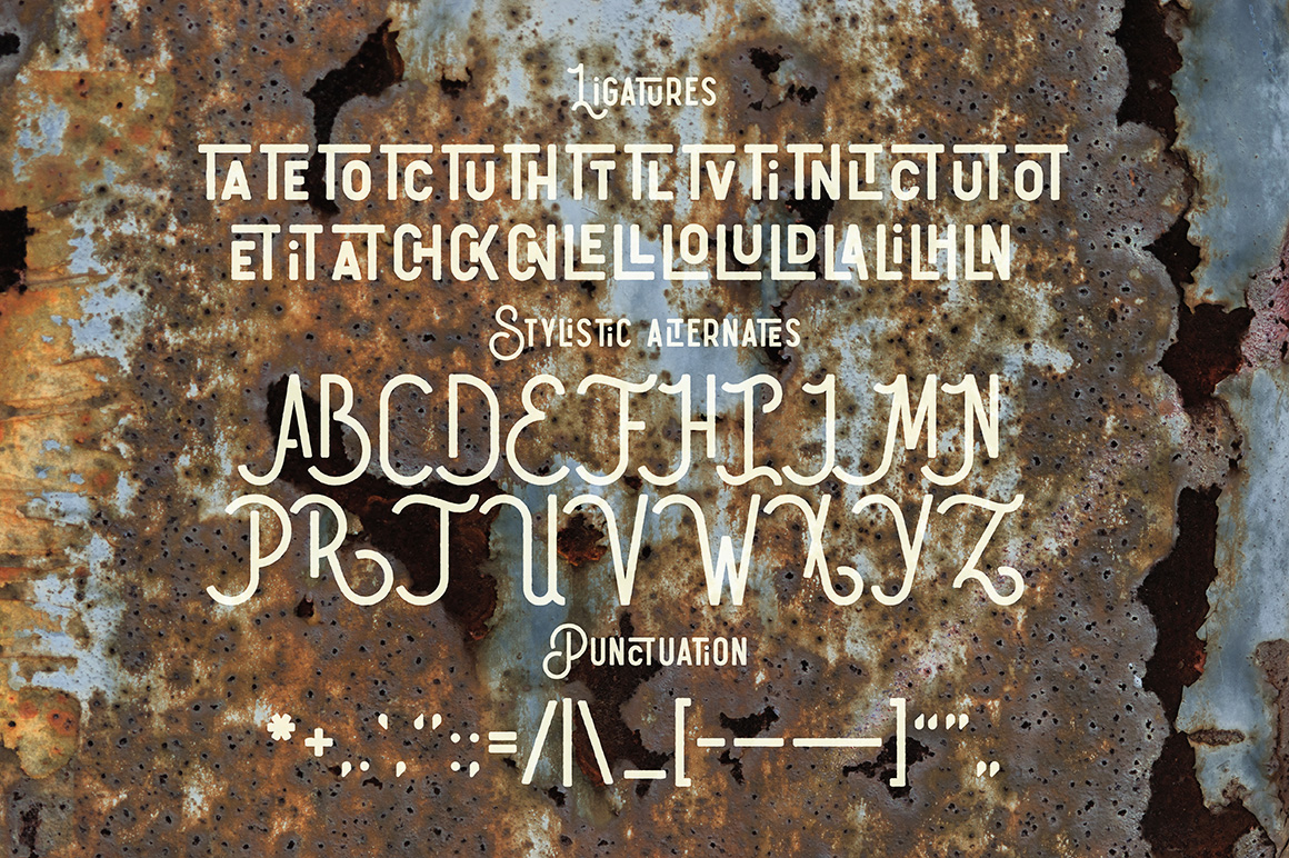 Humblest Font + Textures example image 6