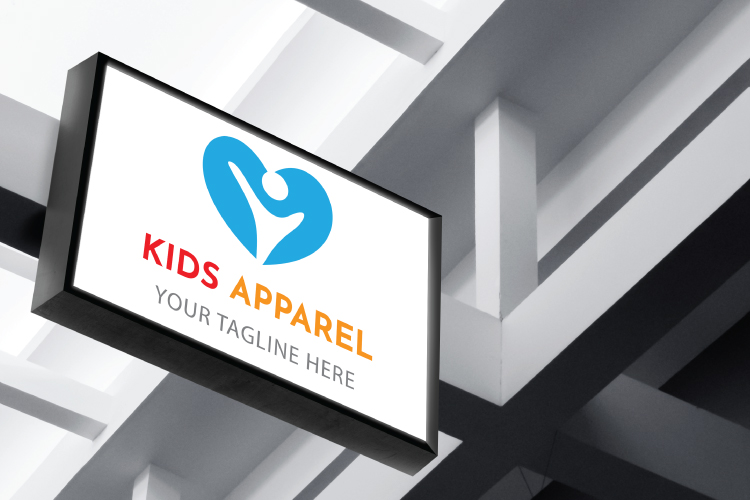 Kids Apparel Logo example image 2