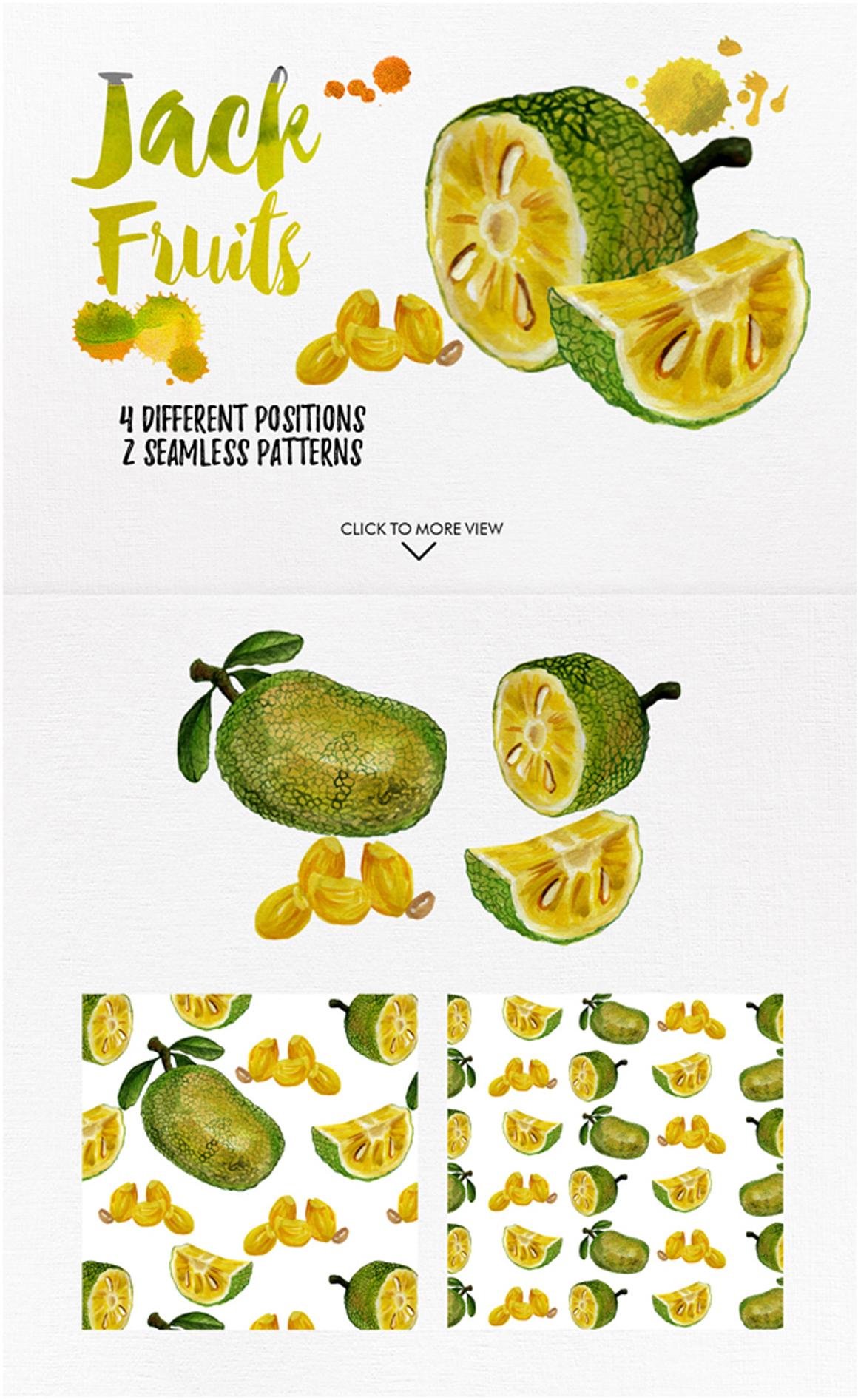 watercolor fruit vol.7 example image 2