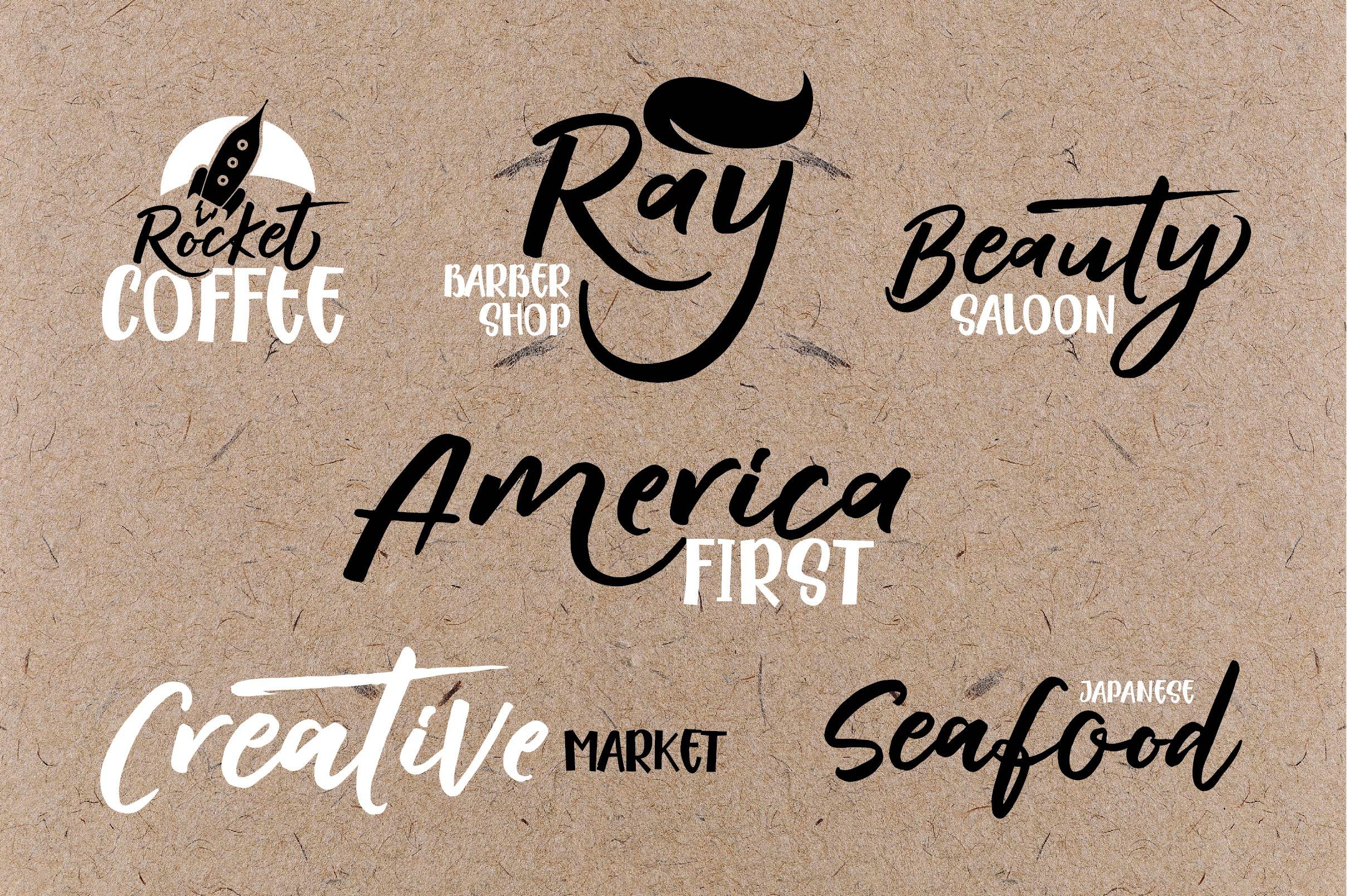 RADITYA Hand lettering example image 7