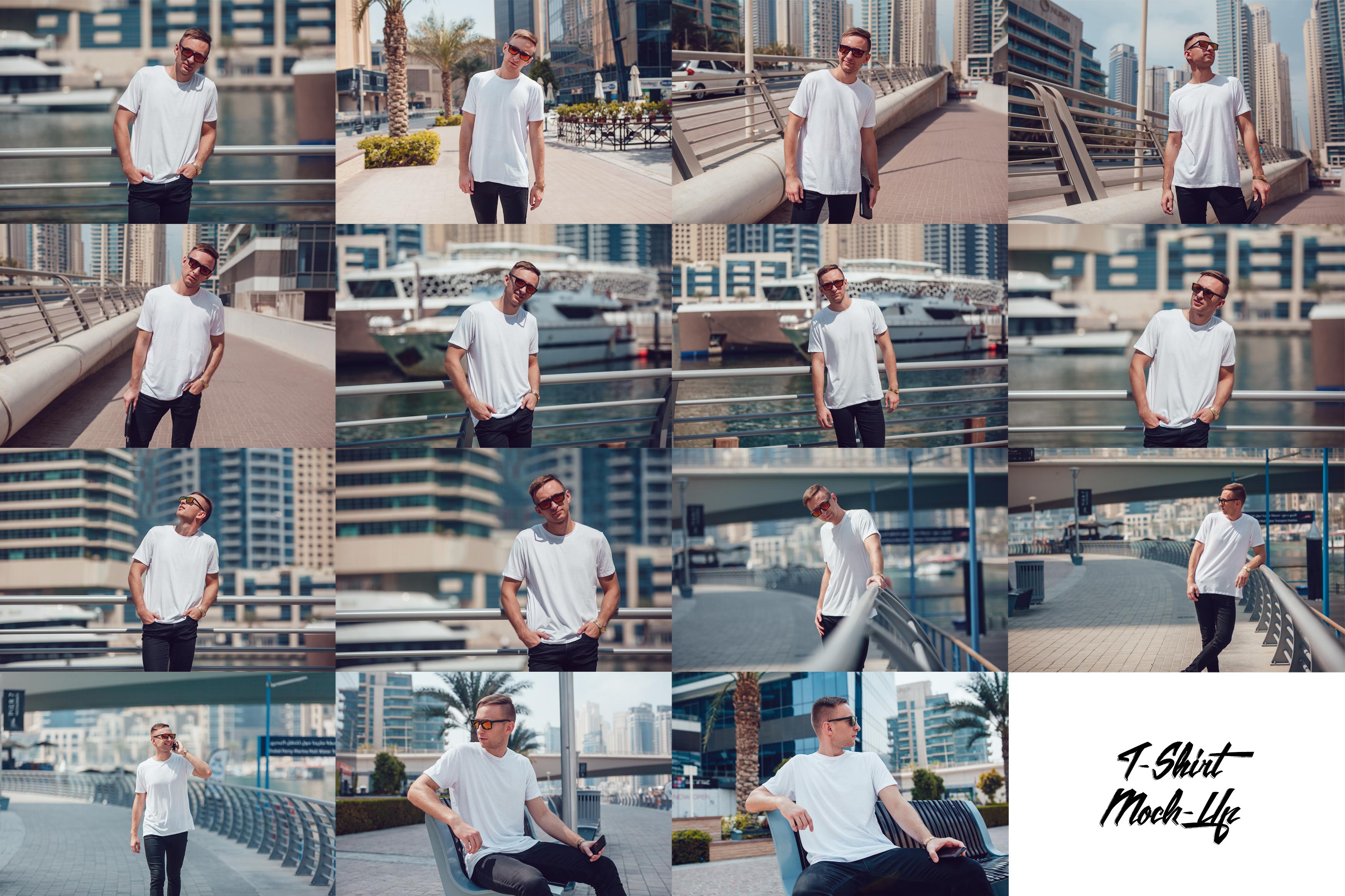 Men's T-Shirt Mock-Up Vol.5 2017 example image 2