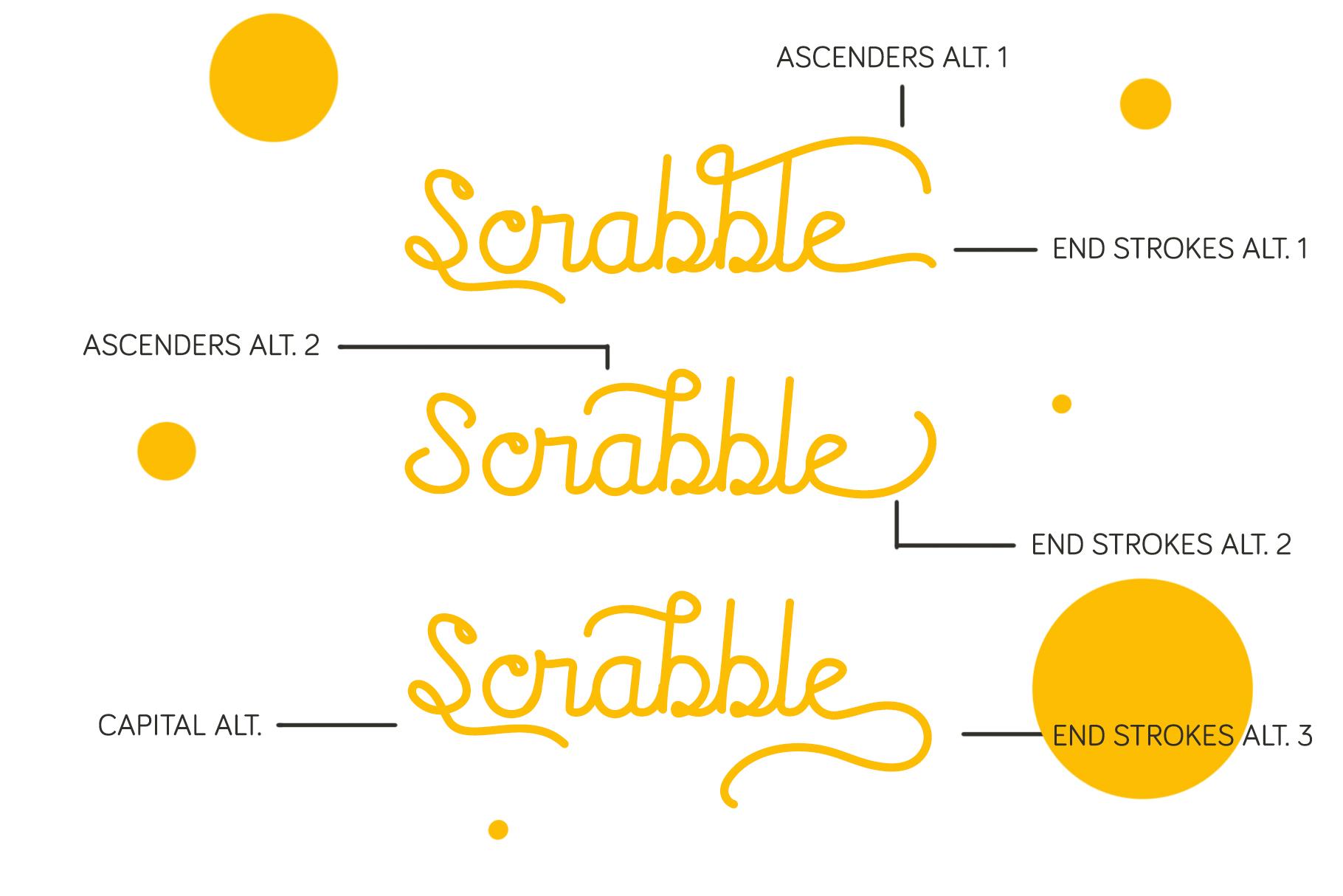 Rocklen Monoline Script example image 8