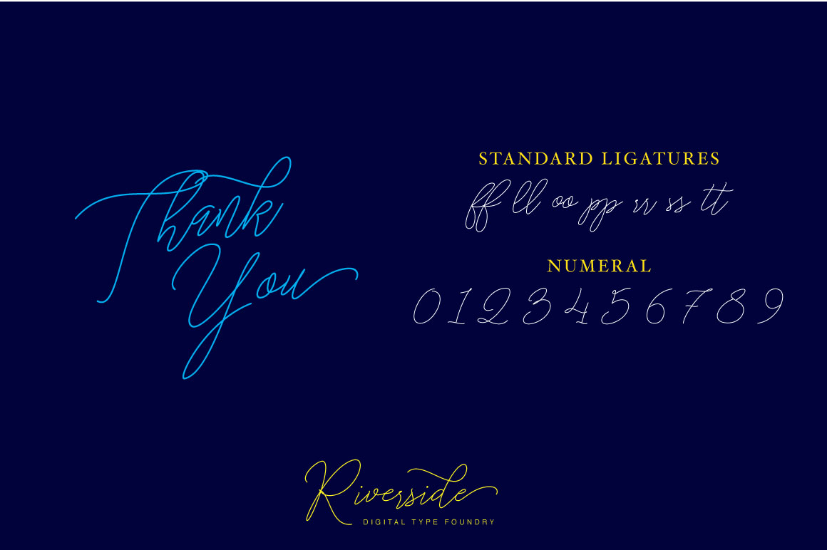 Stringlight Typeface example image 8