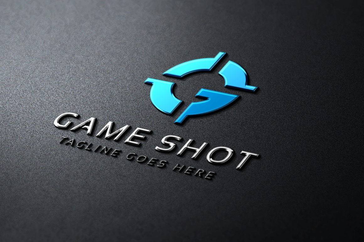 Game Shot Logo example image 1