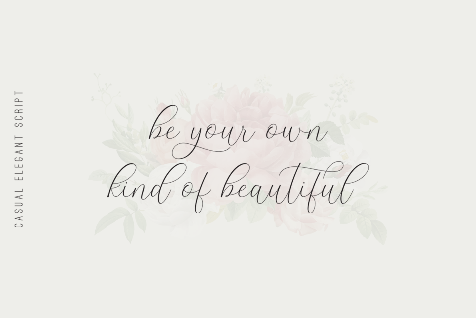 The Britney - Calligraphy Script example image 4