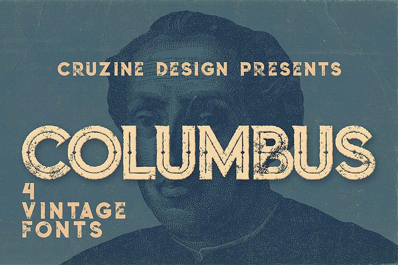 Columbus Typeface example image 1