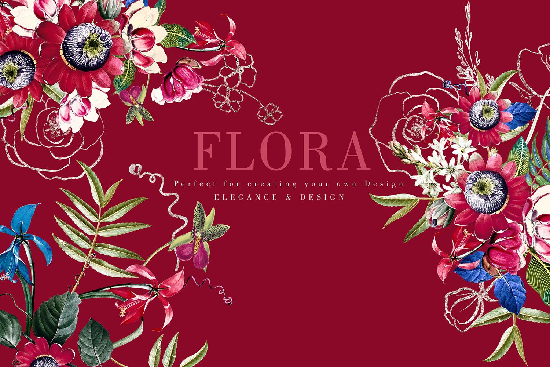 Flora| Arrangements vintage and gold Rose example image 6