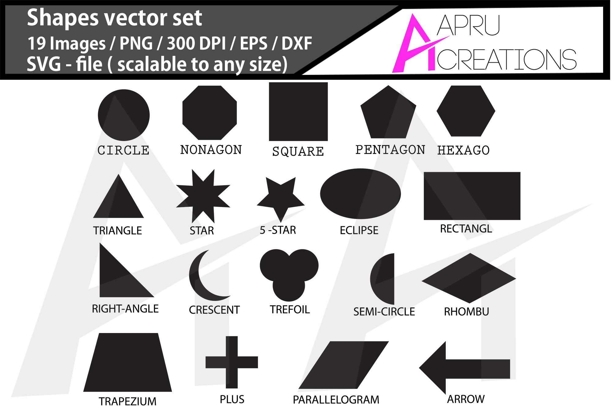 shapes svg/ shapes silhouette example image 1