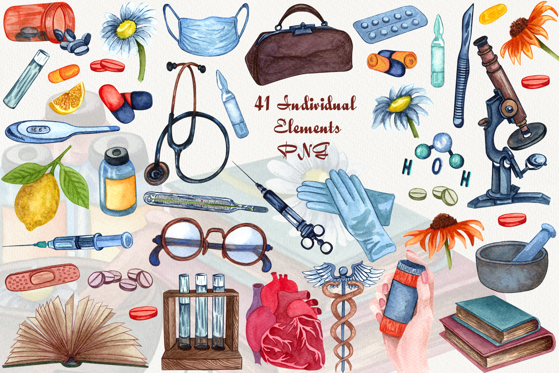 Pharmacy and Medical set example image 2
