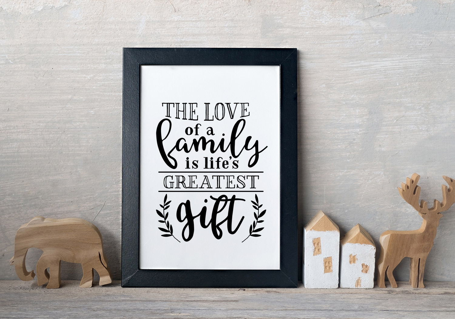 Family Love Quote SVG Cut Files Bundle example image 7