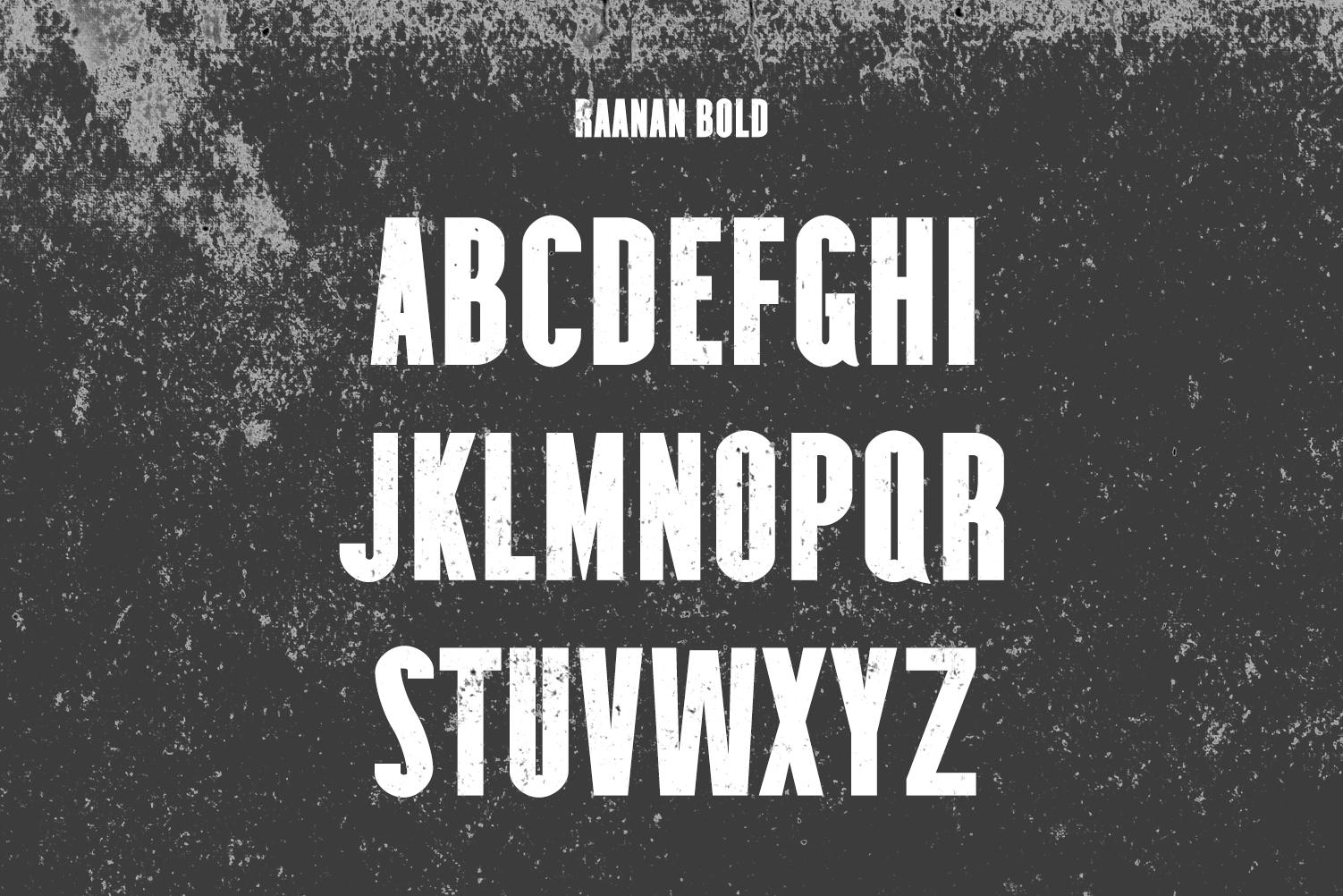 Raanan Classic Sans Serif Font Family example image 3