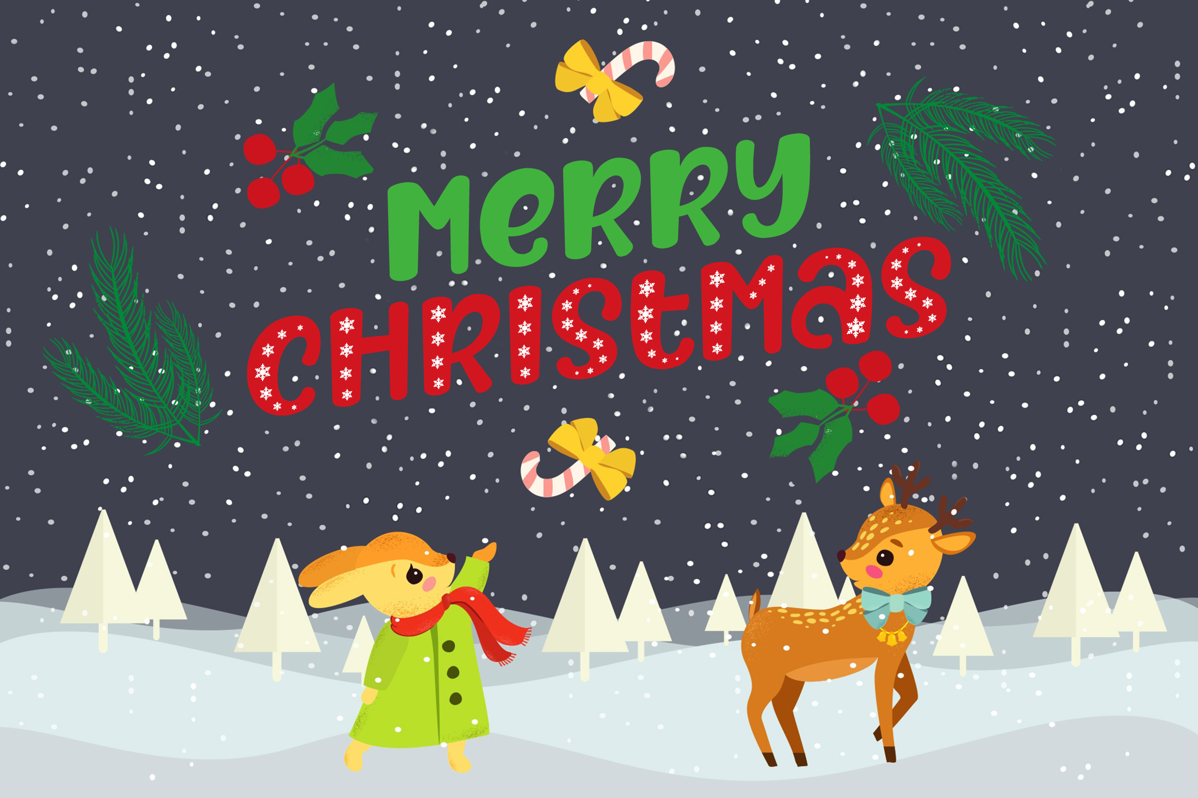 After Fall Winter and Xmas Font example image 7