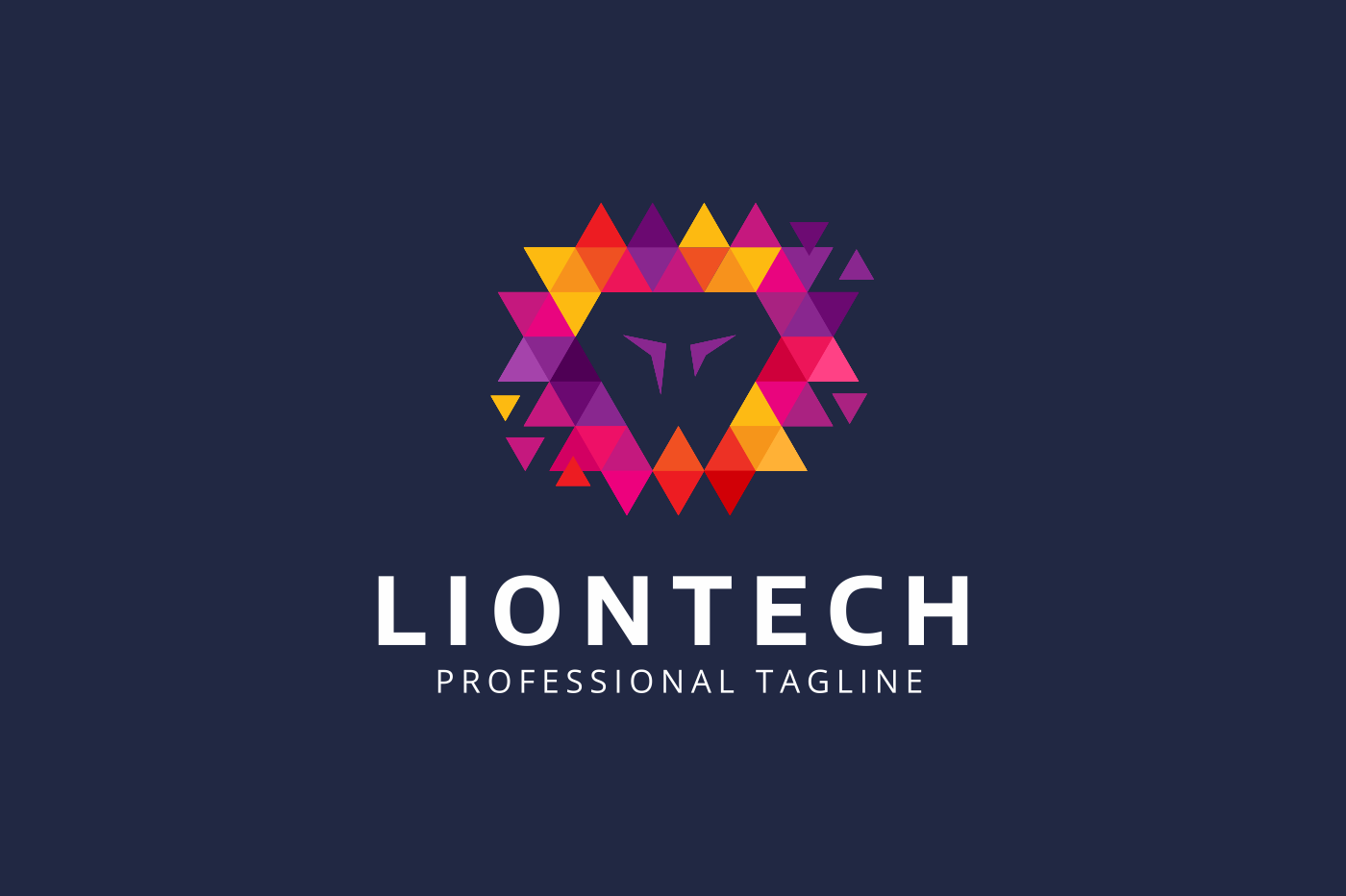 The Lion Logo example image 2