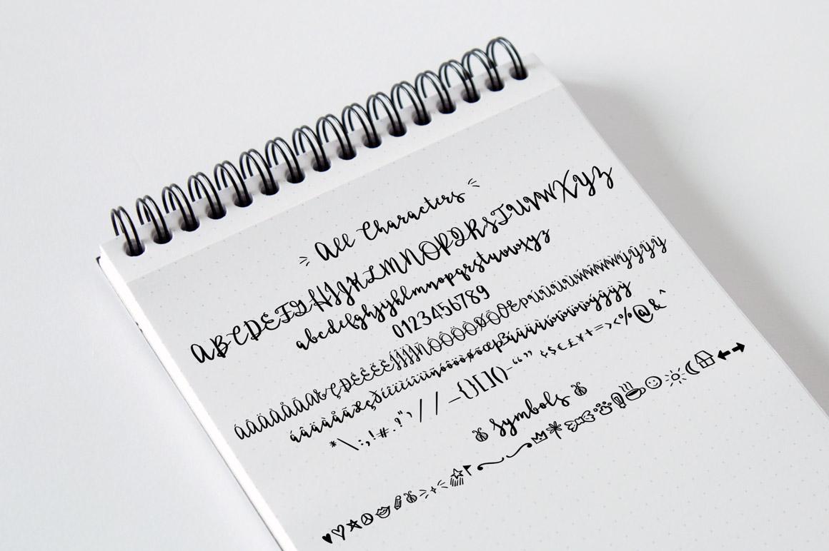Ladybugs Script Font example image 9