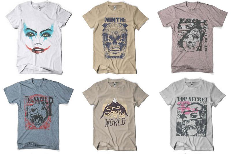 100 Premium T-shirt Designs example image 16