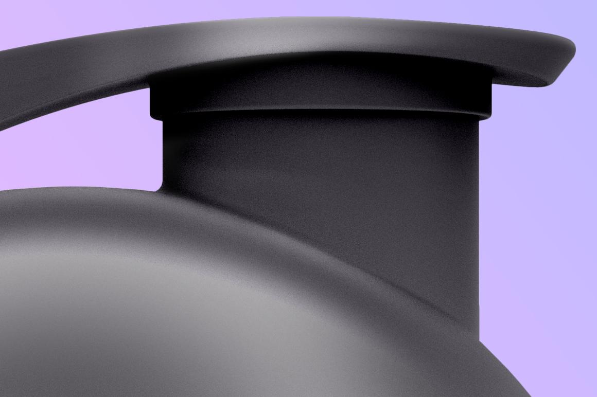 Glossy Shaker Bottle Mock-up 700 ml example image 6