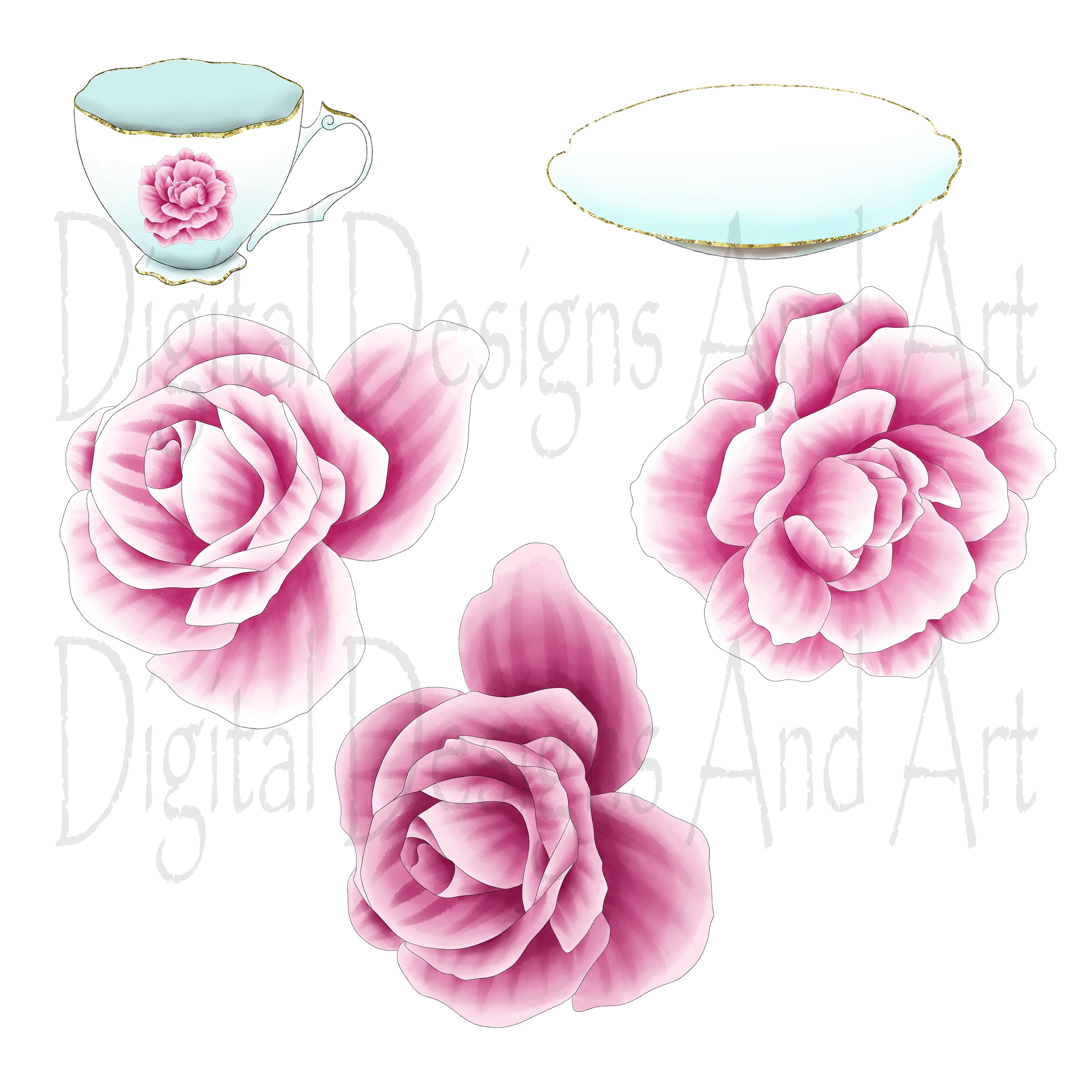 Afternoon tea clipart example image 4