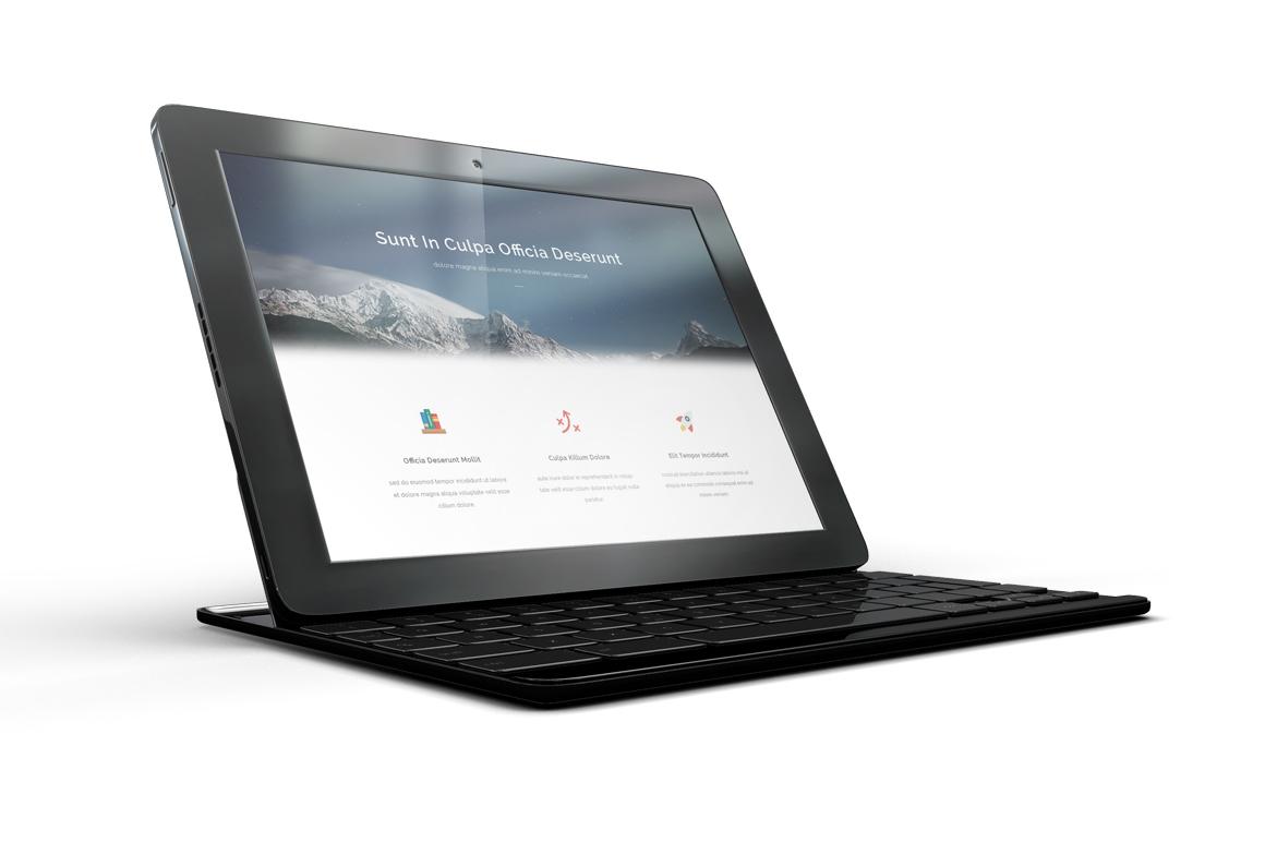 Google Pixel C Tablet Mockup example image 6