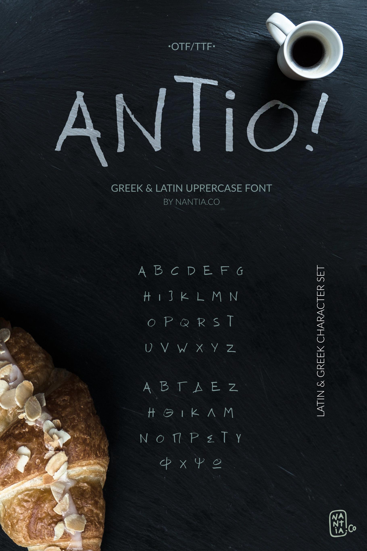 ANTIO! Prokopis   Font Duo example image 2