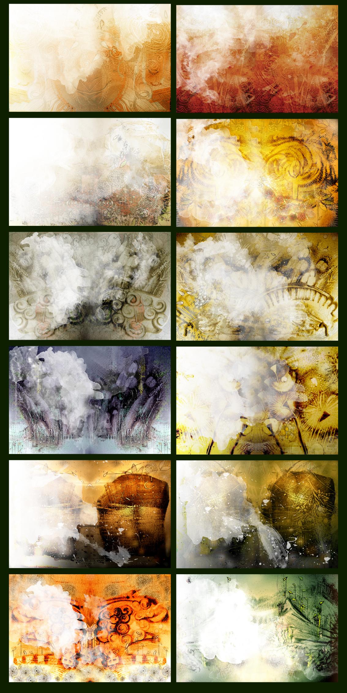 Unique Graphic background Texture BUNDLE example image 2
